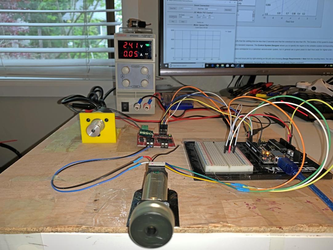 Brushed DC Motor Speed Control_PID
